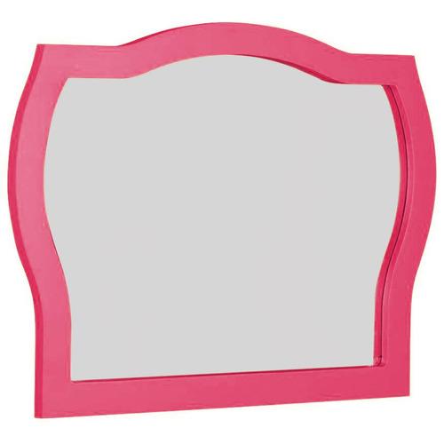 moldura com espelho jungle maxima rosa fe