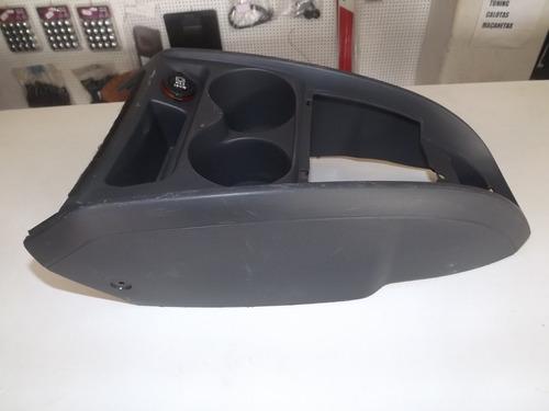 moldura console acabamento renault logan original