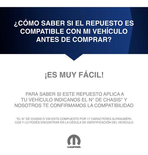 moldura cromada paragolpe delantero jeep renegade 16/19