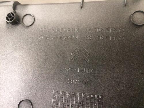 moldura da placa traseira citroen c3 picasso    16081042vv