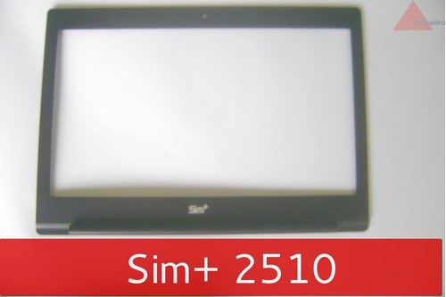 moldura da tela lcd notebook positivo sim + 62r-a14imk-0201