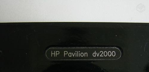 moldura da tela notebook hp pavilion dv2000