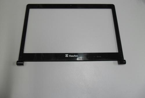 moldura da tela notebook itautec infoway a7520