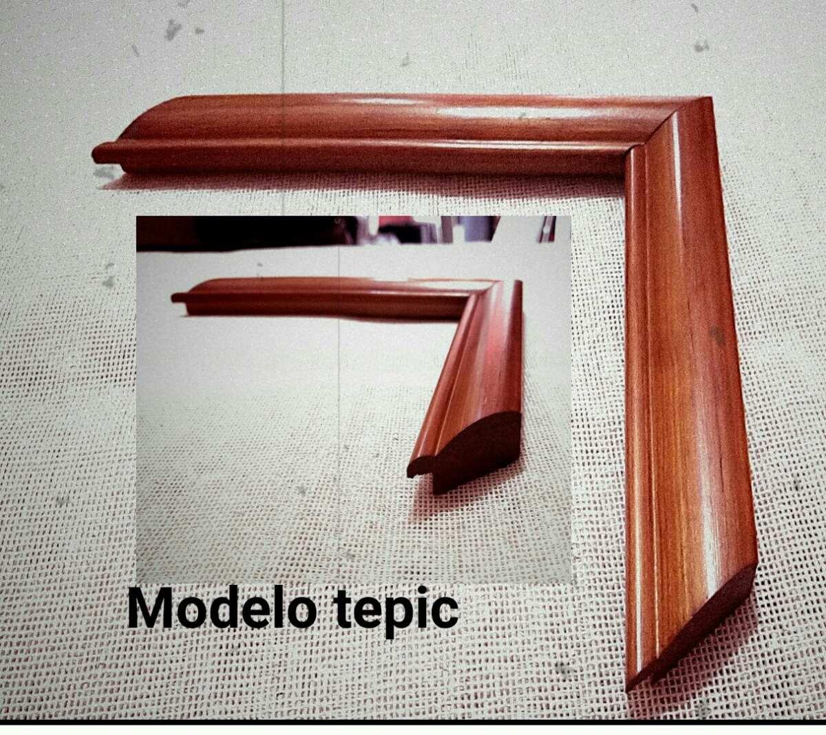 Moldura de madera para marcos en mercado libre - Moldura madera pared ...