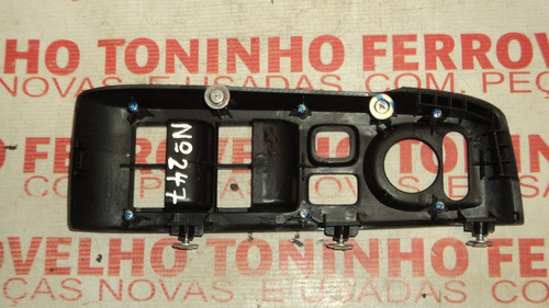 moldura do  comando botão vidro diant. l.e honda city 2010