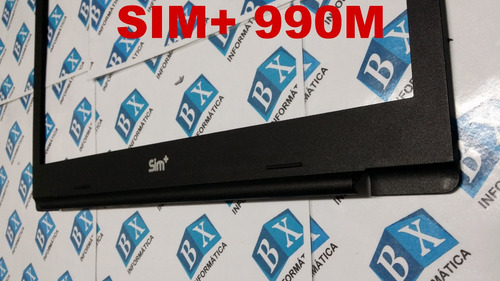moldura do lcd sim+ 990m
