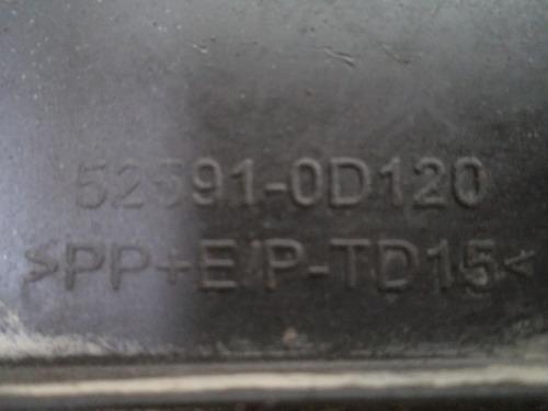 moldura do p/choque  corola...n. 525910d120