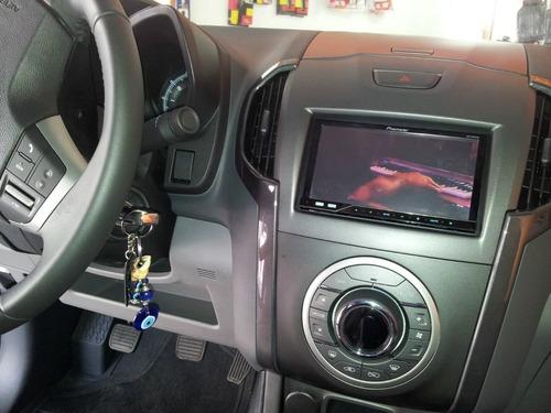 moldura dvd automotivo 2 din nova s10 painel 2din s 10