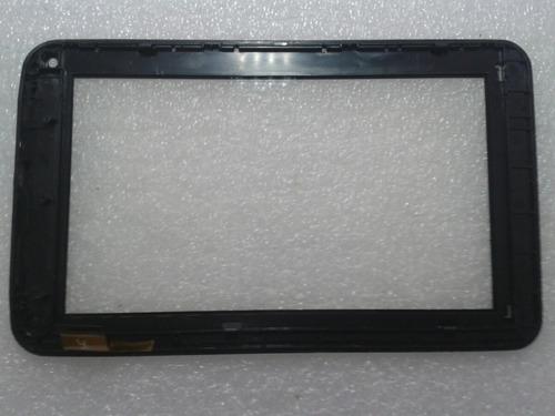 moldura e touch para tablet qbex zupin tx -120