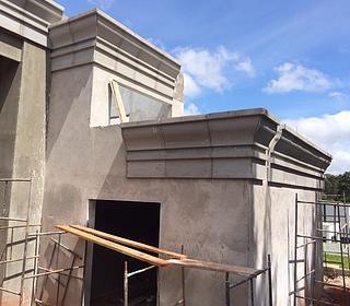 Moldura externa de isopor eps para fachada e janelas - Molduras para fachadas ...