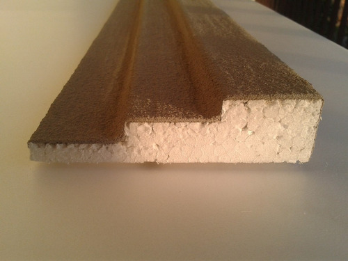 moldura externa de isopor para fachada e janelas