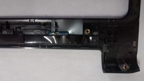 moldura frontal power e sensores hp dv4-2140us