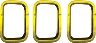 moldura grade uno 2011/...evo way vivace attractive amarelo