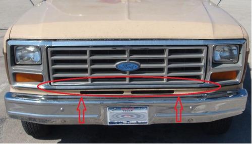 moldura inferior de parrilla ford bronco 1980 - 1986 nueva!!