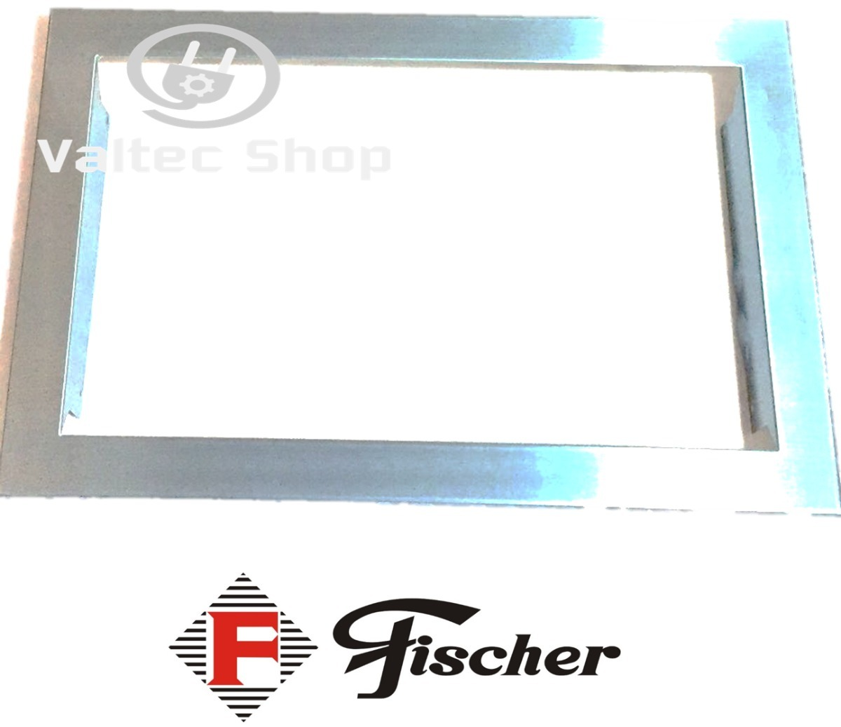 Moldura inox microondas fischer 23l 24l 6946 original r 179 49 em mercado livre - Microondas de encastrar ...