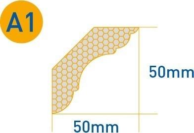 moldura isomold telgopor b1/c1 terminaciones precio x 4 ml