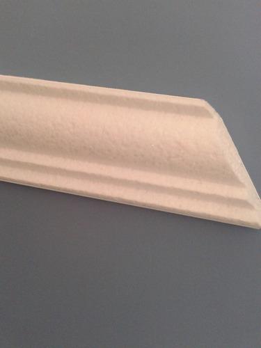 moldura isopor substitui gesso mod 15 - peito de  pombo 1 mt