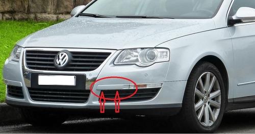 moldura izq. facia defensa volkswagen passat 2006 2010 @