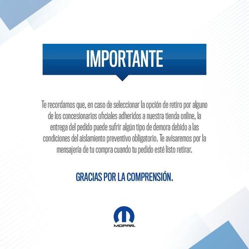 moldura izquierda fiat toro freedom 16/18