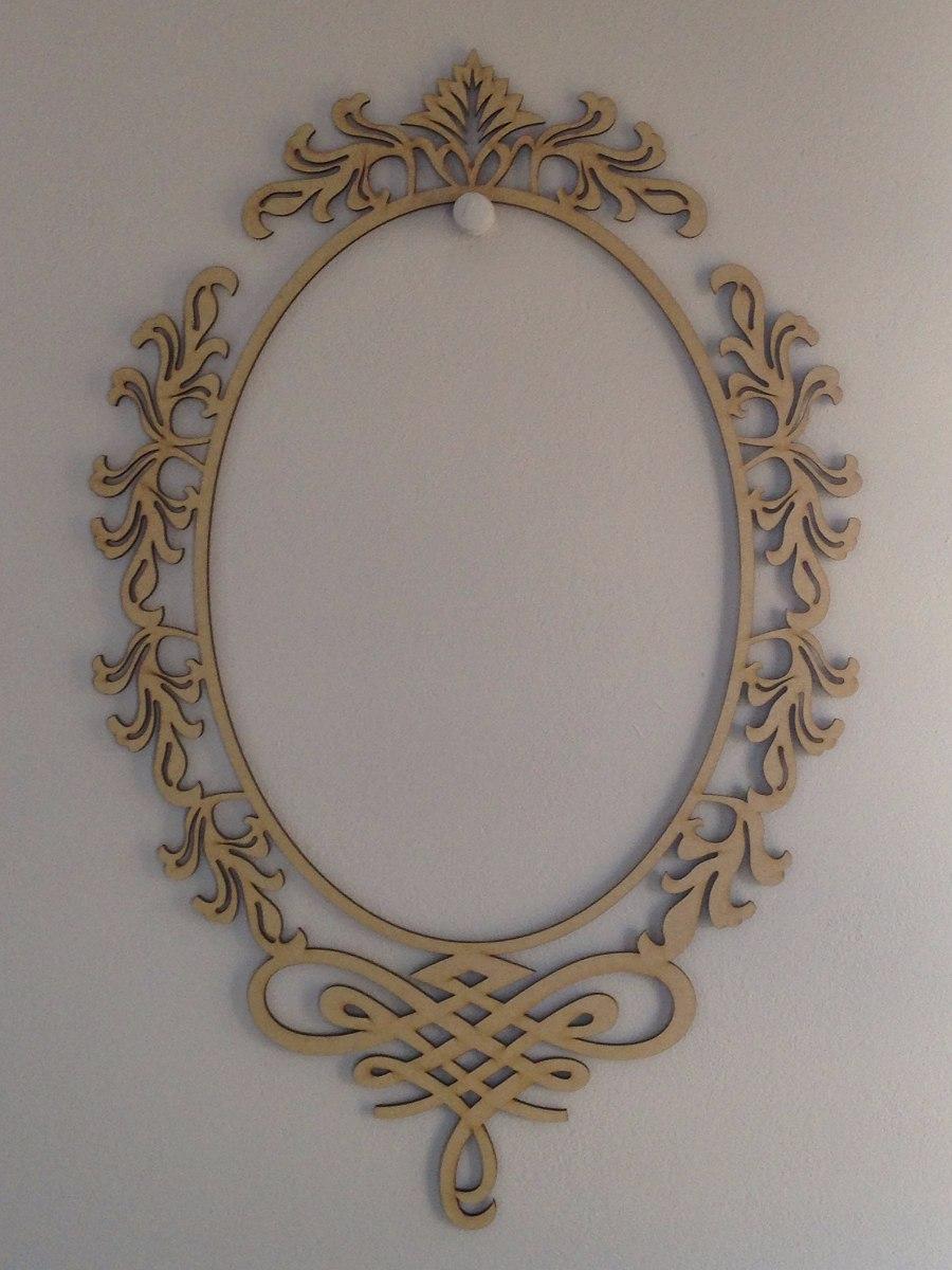 Armario Para Cozinha De Parede ~ Moldura Mdf 1m Artesanato Decoraç u00e3o Espelho R$ 76,90 em Mercado Livre