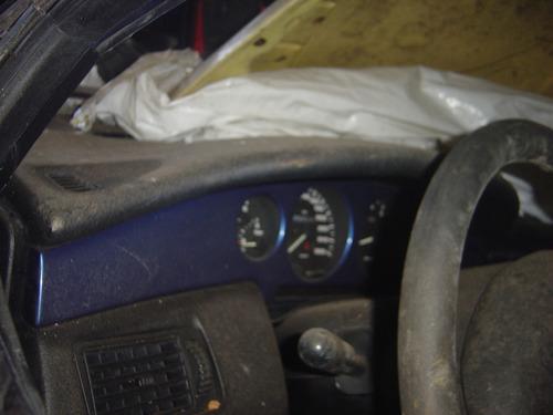 moldura metalica (azul) painel fiat coupe