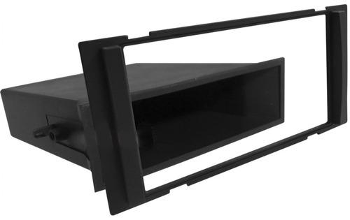 moldura painel 1din 2din march 2015 porta objeto black piano