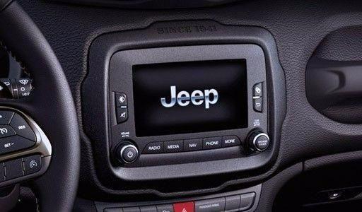 Jeep Renegade Interior >> Moldura Painel 2 Din Jeep Renegade Para Multimídia ...