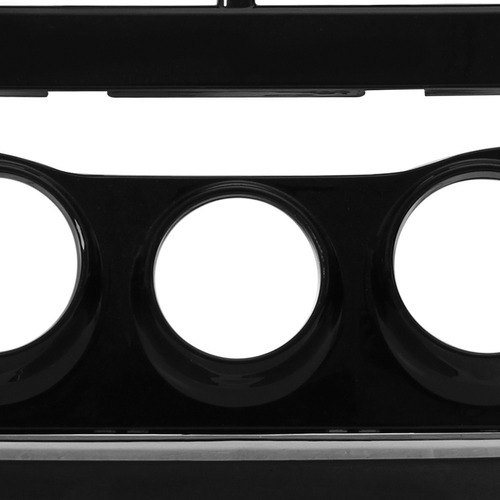 moldura painel 2 din toyota yaris 2018 19 preto black piano