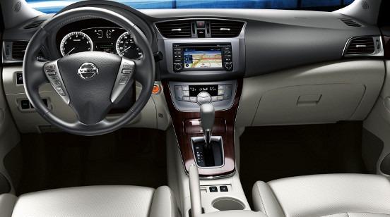 Moldura Painel Dvd Nissan Sentra 2014/2015 2 Din ...