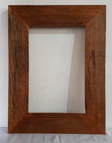 moldura para espelho madeira demolição rústico prime