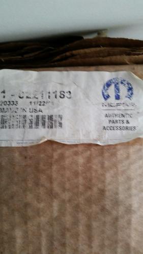 moldura para puerta cherokee sport 2009 original mopar
