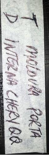 moldura porta chery qq 2009 2010 2011 2012 2013 td