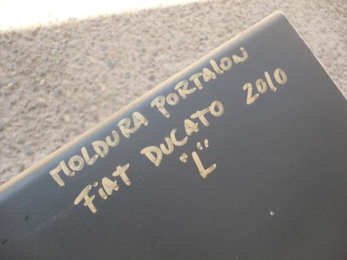 moldura portalon ducato 2010 t.i detalles- lea descripción