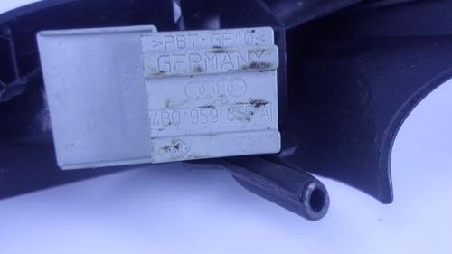 moldura puxador audi a3 com botão do vidro elétrico tras dir