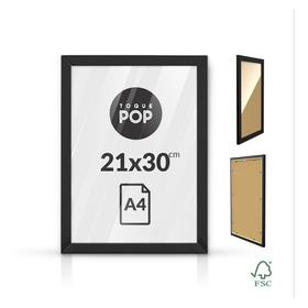 Moldura Quadro A4 Certificado Diploma Foto Poster 21x30cm