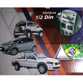 Moldura Radio Fiat Palio Strada Siena Idea 2004 A 2012