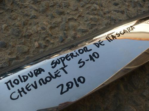 moldura superior de masc s10  2010 daño - lea descripción
