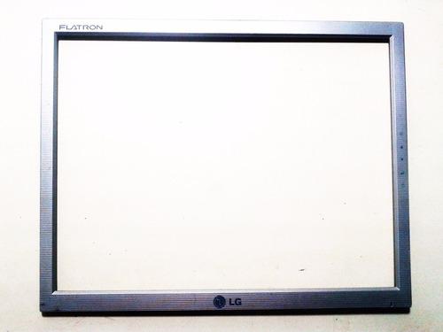 moldura tela monitor lg flatron l1553s-sf