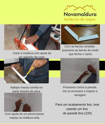 moldura teto isopor substitui gesso promoção sanca eps mod 1