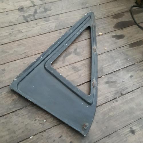 moldura vidro lateral dodge antigo esquerdo completo