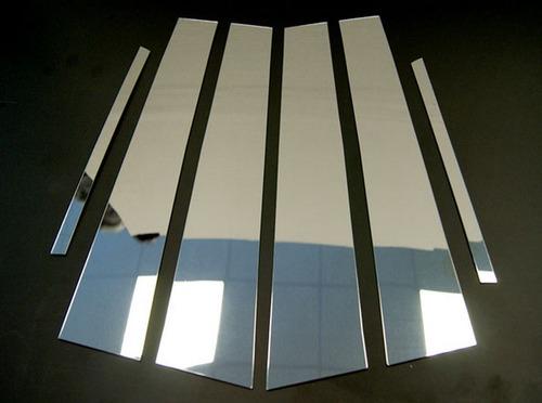 molduras de pilar / poste en puerta ford fusion 2006 - 2009