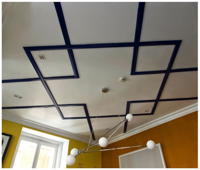Molduras decorativas para techo rosetones para lampara for Molduras para techo