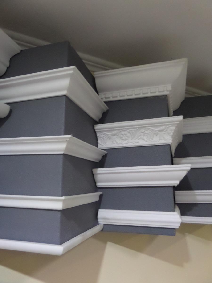 Molduras decorativas poliestireno extruido u s 2 50 en for Modelos de techos para galerias