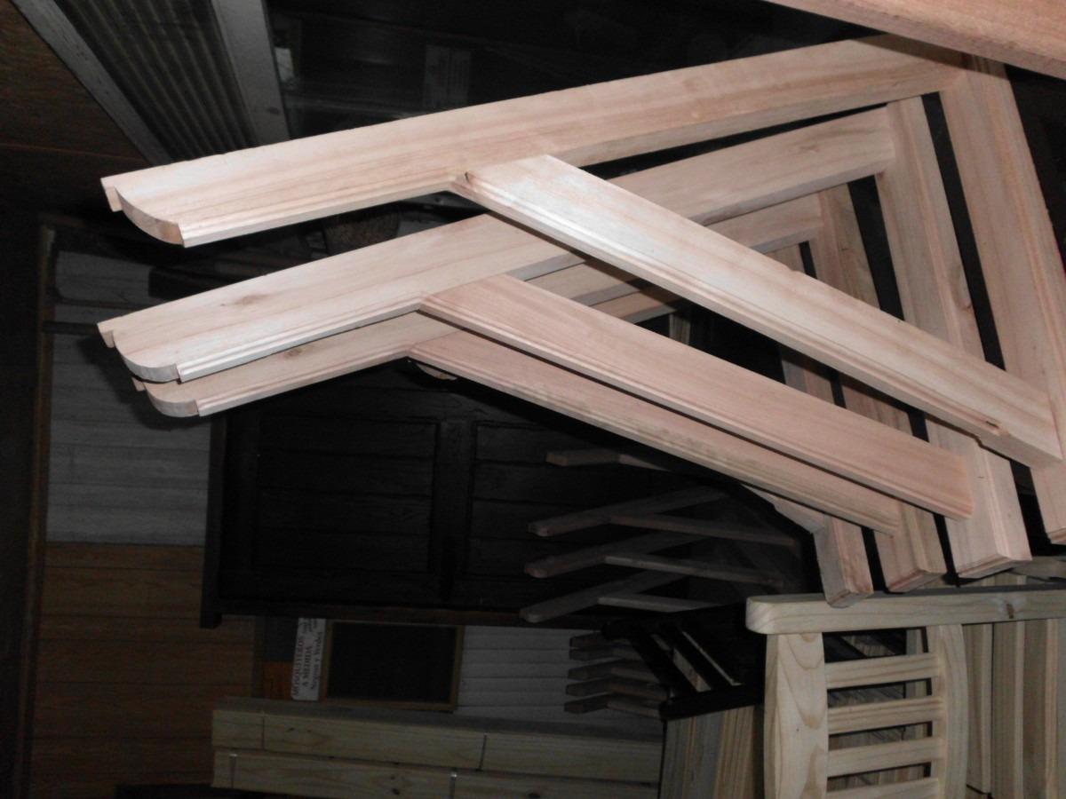 Molduras media ca as en madera 125 00 en mercado libre for Molduras de madera