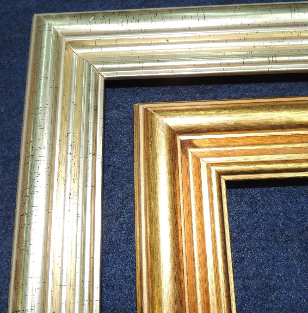 Molduras Oro Y Plata Para Enmarcar - $ 185,00 en Mercado Libre