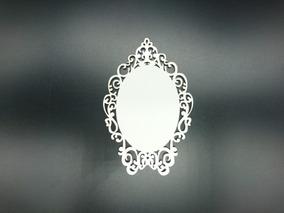 3762fee6d Moldura Para Espelho Branca De Neve - Arte e Artesanato no Mercado ...