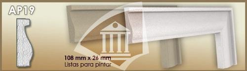 molduras para exterior ap19 la mejor marca/calidad
