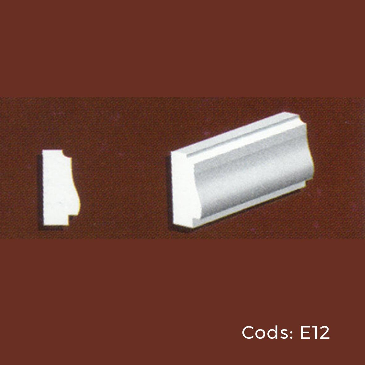 Molduras Para Exterior. Marco E12 (5,4 X 12 Cm) - $ 223,00 en ...