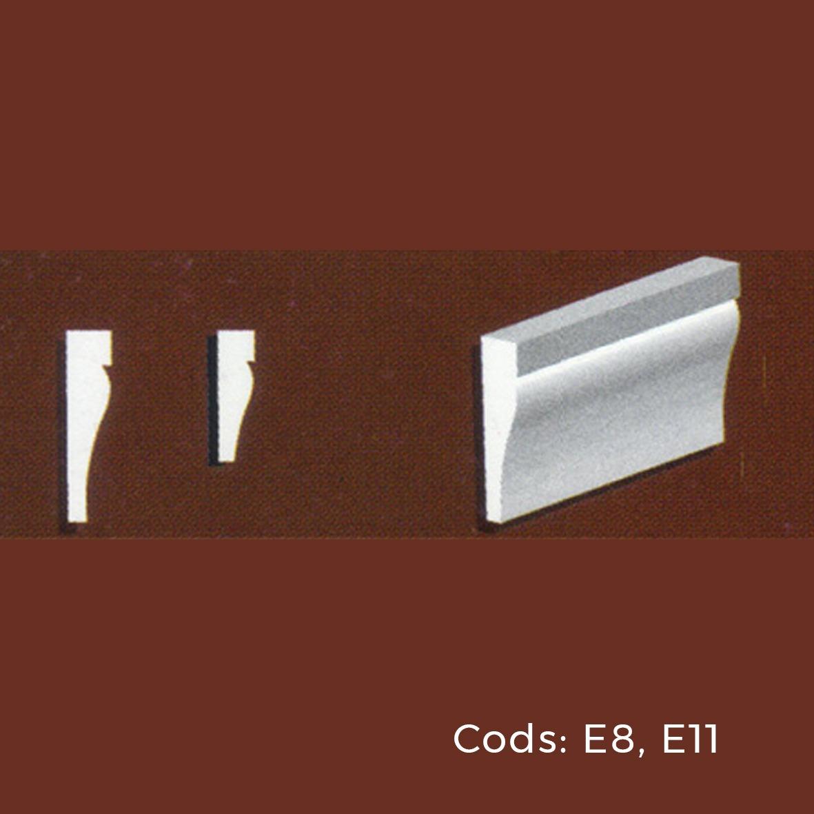 Molduras Para Exterior. Marco E8 (3,5 X 13,5 Cm) - $ 277,00 en ...