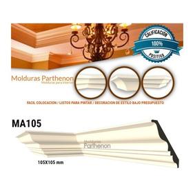 Molduras Parthenon Ma105 20mtrs +8esquinas+2x1,5kg Adhesivo